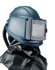 Strahlerschutzhelme und -masken mit Druckluftzufuhr