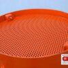 Strahlmittel-Sieb Strahlkessel SCX60