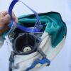 eingebaute Halbmaske der Strahlermaske RC 4
