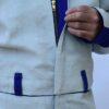 Reissverschluss Front Strahlerschutzoverall RSSO-ECO