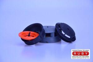 Ausatemventilsatz Strahlermaske RC4