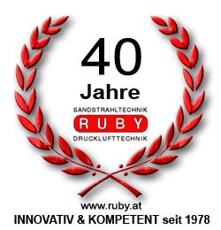 40 Jahre Ruby Strahltechnik