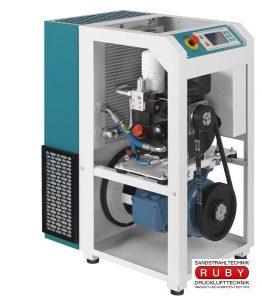 Schraubenkompressoren für den Dauerbetrieb