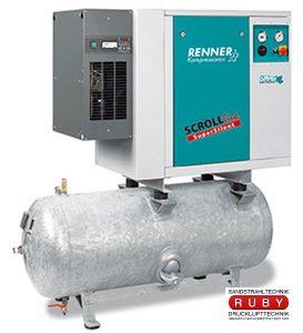 Ölfreie SCROLL Kompressoren Type: INDUSTRY und SUPERSILENT