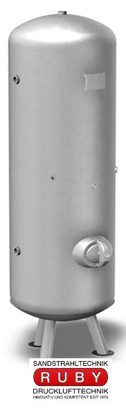 Drucklufttank 250 Liter 11bar verzinkt stehend