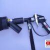 Staubabsaugbürste RBA mit Strahlpistole RV2000 Industrtie HM